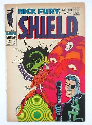 Nick Fury Agent of Shield #5 Iconic Steranko Cover Marvel Comics