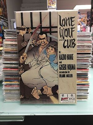 Lone Wolf and Cub #1-45 - Complete Run - First Comics