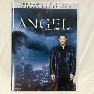 Angel: The Complete Series - All Seasons 1-5 Collection (DVD, 30-Disc Set)