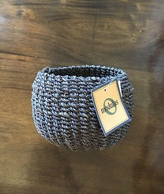 Small Woven Basket [Brand New!!] Perfect for Jewelry, Keys and More!