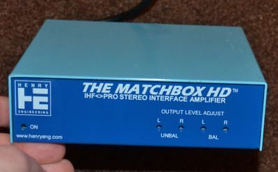 Henry Engineering The Matchbox HD stereo leveling matching interface amplifier