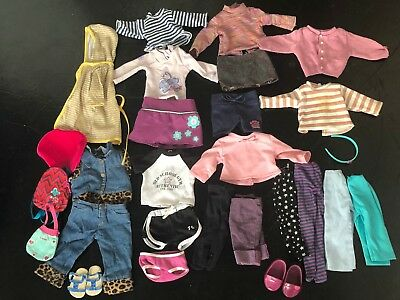 """Lot Our Generation DOLL CLOTHING OUTFITS Fits 18"""" American Girl"""