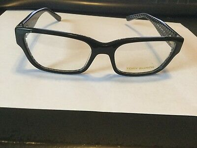 052a31d4d075 NEW TORY BURCH Ty 2074 1653 Black Eyeglasses Authentic Frame Rx ...