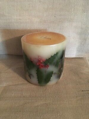 Longaberger American Holly Candle - Bayberry Pine - New