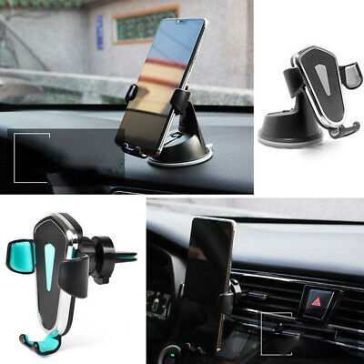 Easy Hold 360° Gravity Car Holder Air Vent Dashboard Mount Stand For Cell Phone