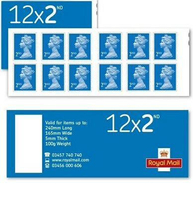 ROYAL MAIL  2nd CLASS Stamps-  SELF ADHESIVE POSTAGE STAMPS-letters parcel