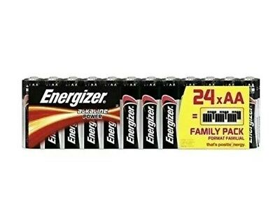 + 24x Energizer AA Batteries Alkaline Power Double A Batteries Family Pack 34:2