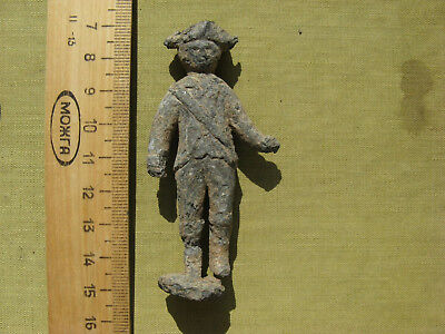 Tin soldier The 18-19th century  Metal detector finds №501A 100% original