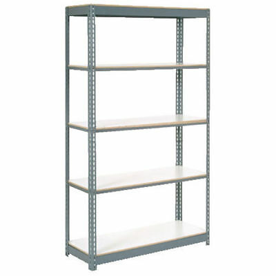 "Boltless Extra Heavy Duty Shelving 36""W x 18""D x 60""H, 5 Shelves, 1500"
