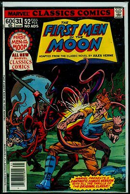 Marvel CLASSICS Comics #31 The FIRST MAN In The MOON NM 9.4