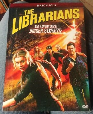 Brand New Sealed The Librarians Complete Season 4 Four 4Th Dvd