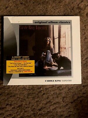 Carole King - Tapestry -CD Remastered W/Slipcover Factory Sealed Brand New!