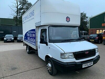 LOW only 35,000 miles 2004 ford transit spares or repair non runner 2X VANS