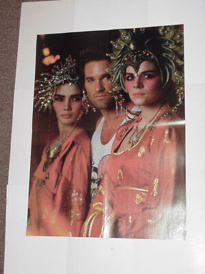 Big Trouble in Little China Movie Poster Kurt Russell