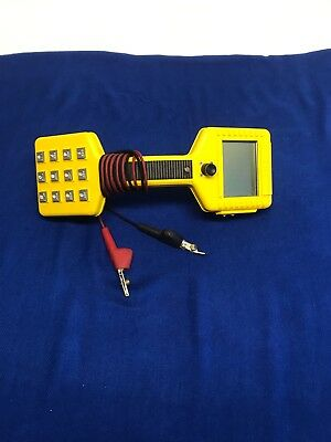 AT&T Fluke Networks Pro Telephone Line Test Set phone lineman