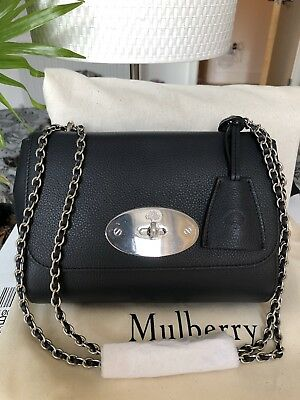 82011ab9488 Authentic Mulberry Handbag Lily Midnight Brand New With Tags RRP £795 Sold  Out