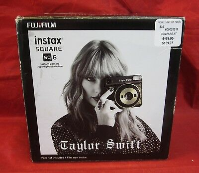 Fujifilm Instax Square SQ 6 Taylor Swift Edition Camera - New in Box