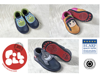 Pololo Maxi Kindergarten shoes - Ecological children's shoes