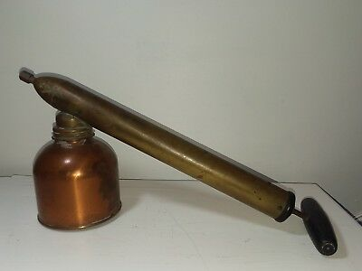 Vintage Copper Brass DB Smith Blizzard Adjustable Continuous Sprayer Utica NY
