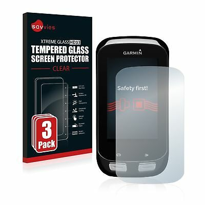 Garmin Edge 1000 , 3 x Xtreme Glass HD33 Tempered Glass Screen Protector