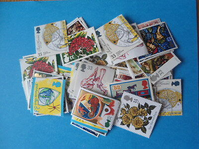 £500 Face Value of unused GB stamps all below 24p- Great for Cheap Postage