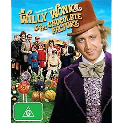 Willy Wonka And The Chocolate Factory Dvd, The Original, Brand New, Free Post