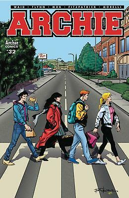 Archie #32C Variant Beatles Abbey Road Homage 2018