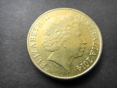 2014 $1 Dollar Coin MOR Mob Of Roos Low Mintage 1 Million Coins - Circulated #3