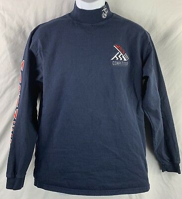 USMC Marine Corps Marathon 2012 Blue Official Race Shirt Medium Long Sleeve MCM