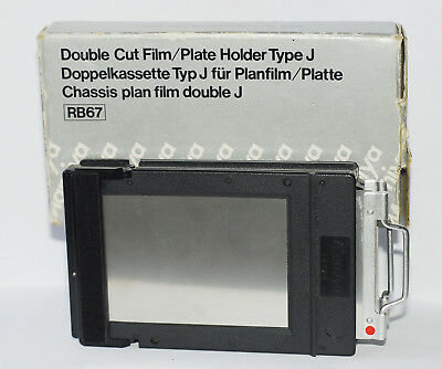 Mamiya Double Cut Film / Plate Holder Type J for RB67 in original box