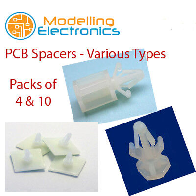 PCB Spacers | Standoffs | Pillars - Screw Fastened - Self Adhesive 4.9mm - 9.5mm