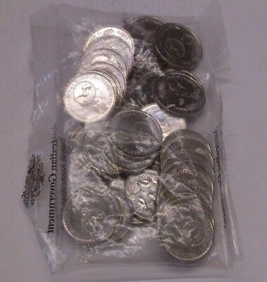 2016 Australian Change Over 5 Cent Coin in Mint Bag (40 Coins)