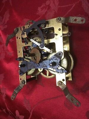 Frick &co Striking Clock Movement For Spares Or Repair