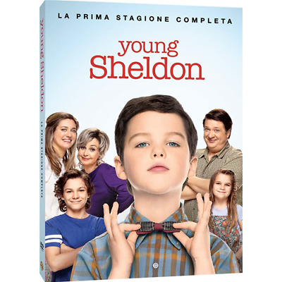 Young Sheldon - Stagione 01 (2 Dvd)  [Dvd Nuovo]