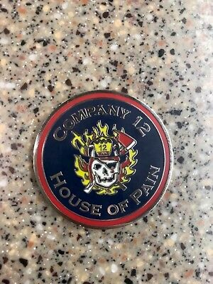 Fire Company 12 Challenge Coin