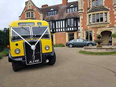 Weddings, Proms & Private Hire - 1949 Leyland Tiger Bus