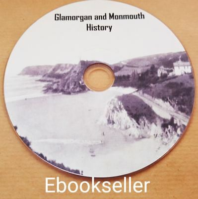 Glamorgan & Monmouth History in 90 files Kellys & Wales directories on USB Stick