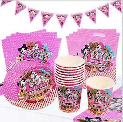 Surprise Dolls Birthday Party Supplies Decorations Tableware & Balloons