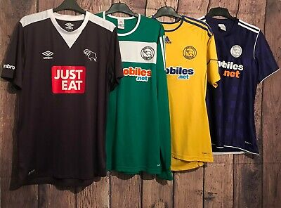 Derby County Football Shirt, The Rams, All Sizes, All Seasons, Great,