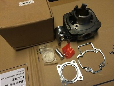 Cylindre + Piston + Joints Complet Scooters 50 Piaggio Typhoon Gilera Stalker