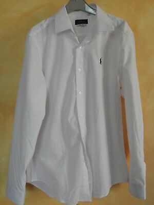 CHEMISE BLANCHE POLO Ralph Lauren - Taille M (38 40) - EUR 17,00 ... 0379aff8a88f