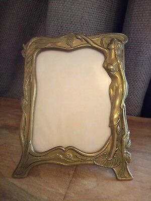 Small antique Art Deco Picture Frame Bronze?