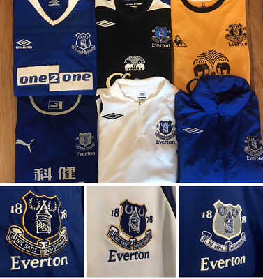 Everton Football Shirt, All Sizes, All Seasons, Great,