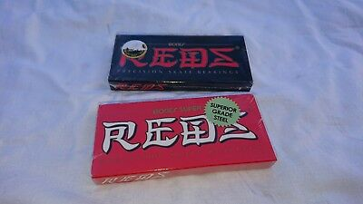 Kugellager Reds + Super Reds Skateboarding Bearings Bones Reds NEU und in OVP