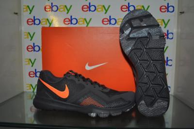 b465fe99d3ee NIKE FLEX CONTROL II Mens Training Shoes 924204 080 Grey Orange NIB ...