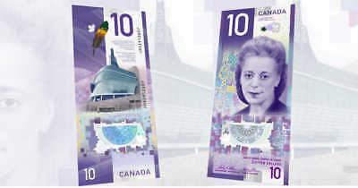 CANADA/CANADIAN New $10 Polymer Banknote ISSUE of 2018 (Gem UNC)