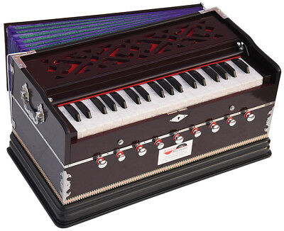 NEW HARMONIUM~3¼ OCTAVES~9 STOPS~440 Hz~SHRUTI~YOGA~BHAJAN~KIRTAN~MANTRA~CHANT