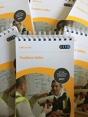 Toolbox Talks GT 700 Citb Latest Edition Health And Safety 2017