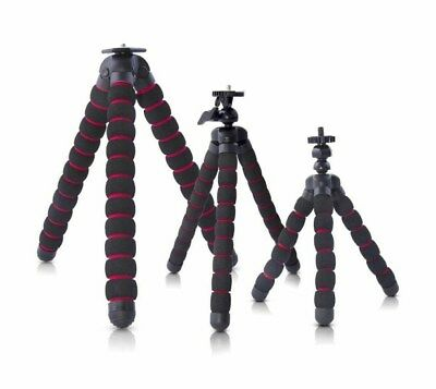 Octopus Tripod Stand Spider Flexible Mobile Mini Tripods iPhone GoPro Camera