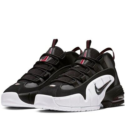 ef08ab2e45 Authentic NEW Nike Air Max Penny Black/White/University Red 685153-003  Sneaker